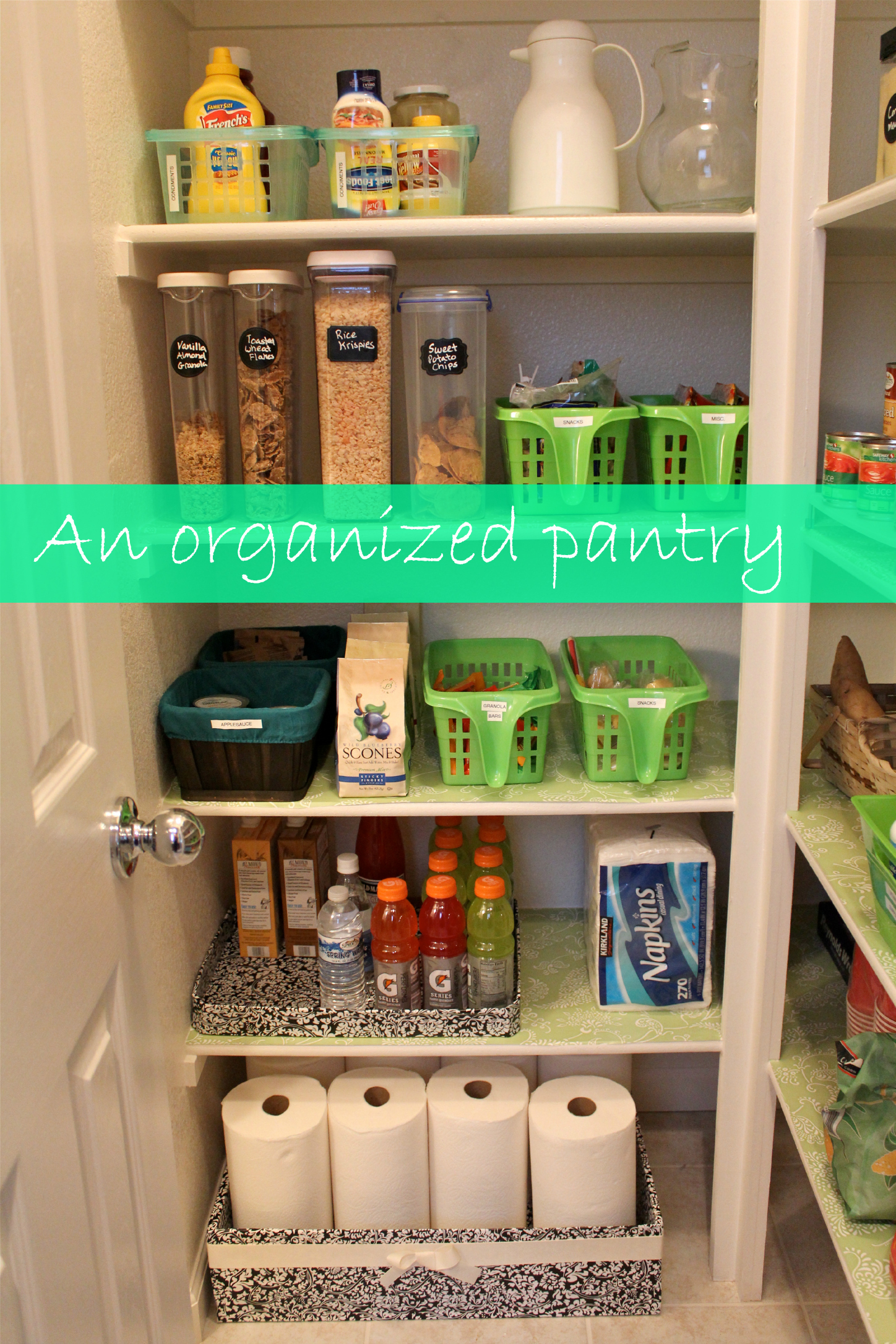 dollar tree pantry organization
