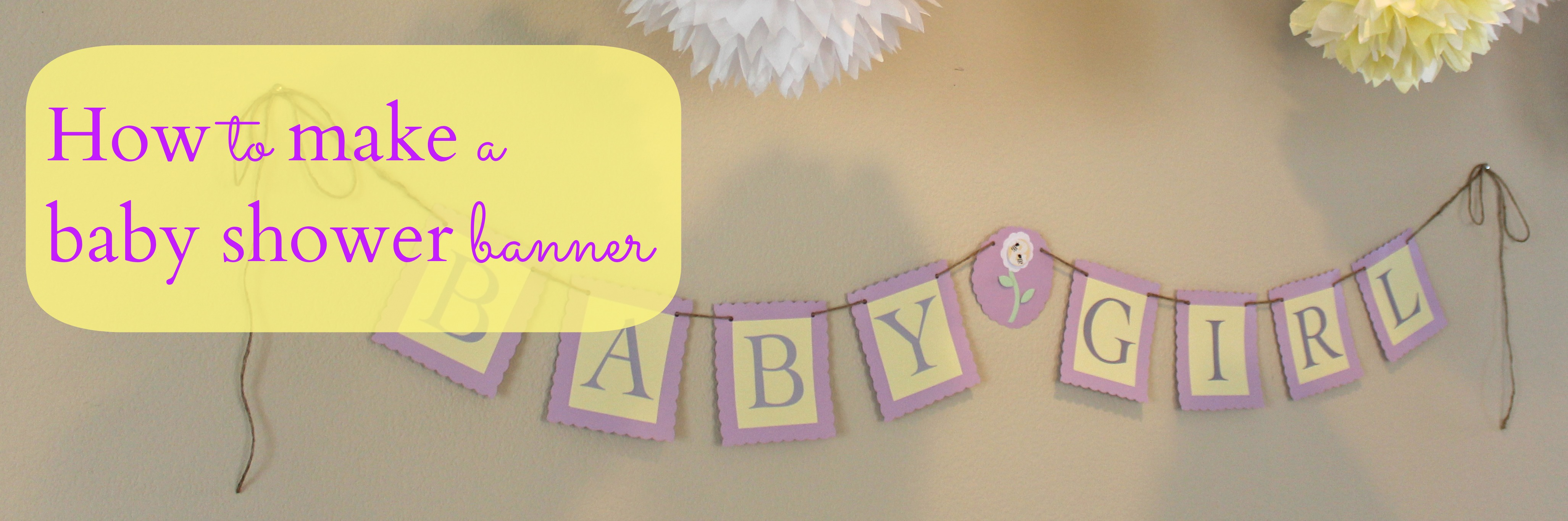Hosting A Baby Shower Part  Easy Diy Party Decorations  Party