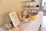 Lavender and Yellow Baby Shower