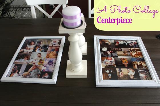 photo collage centerpiece