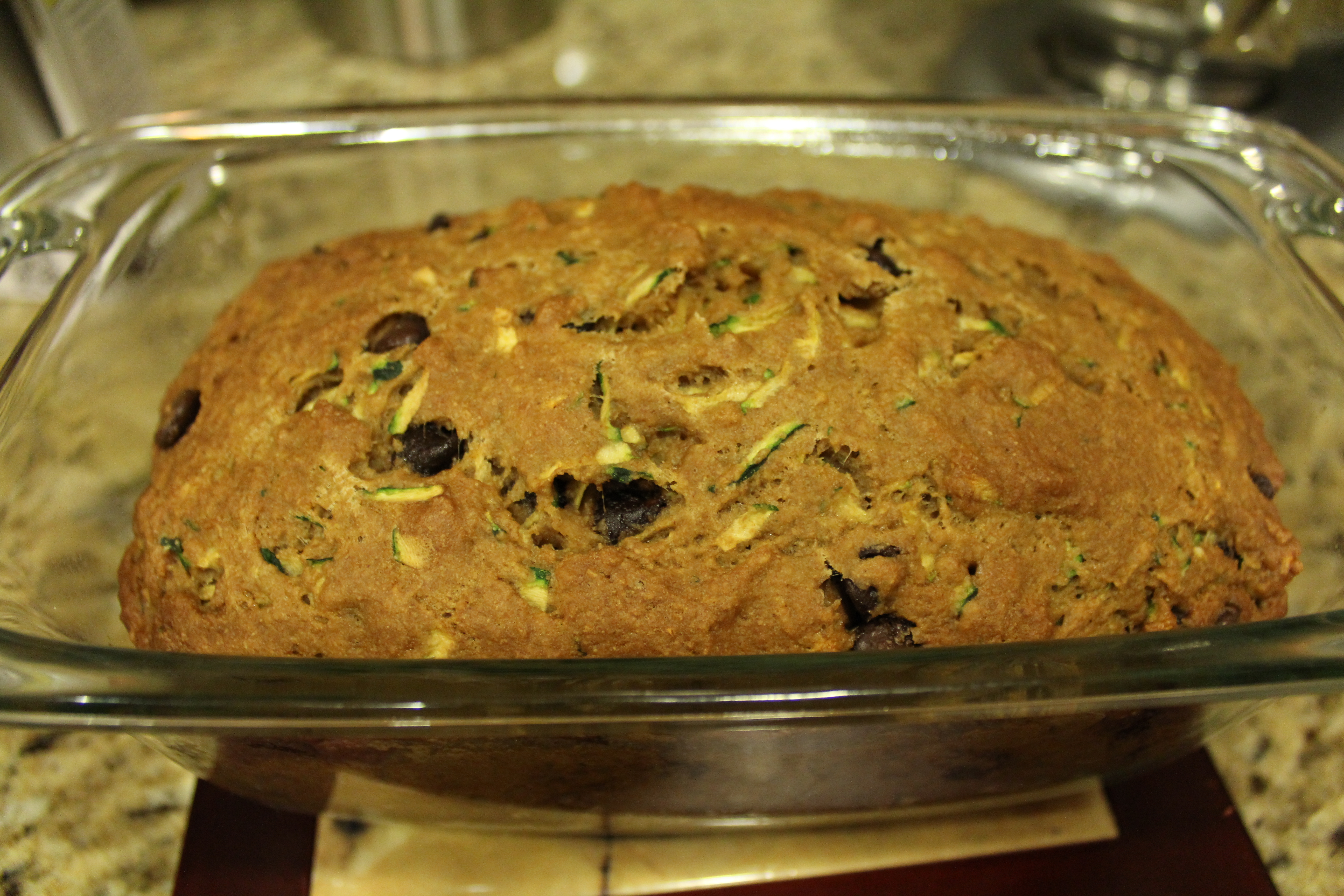 Low Fat Chocolate Chip Zucchini Bread | The Silberez Life