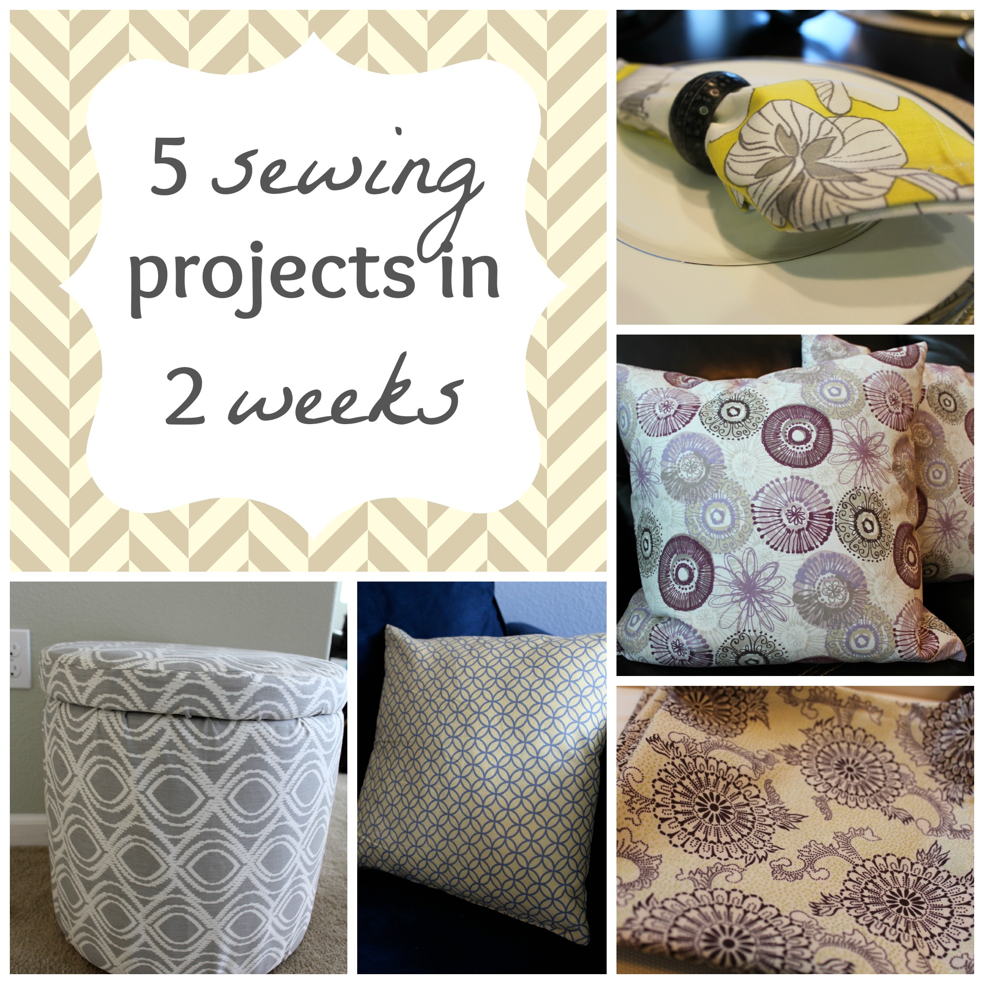 Wrapped up in sewing projects the silberez life for Household sewing projects