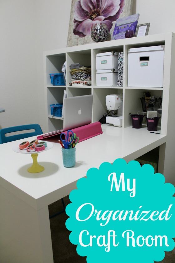 my organized craft room